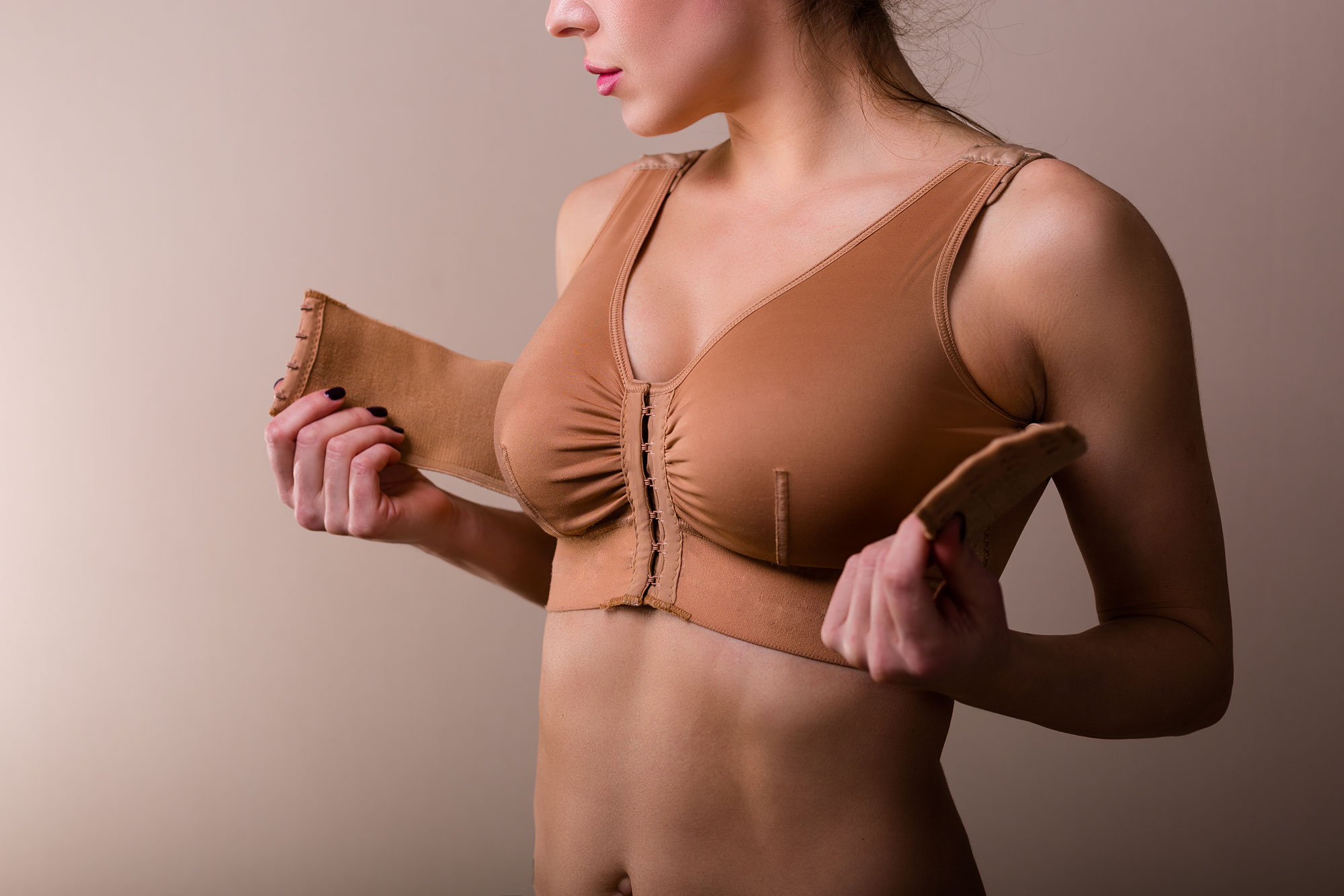 The benefits of a post-op bra